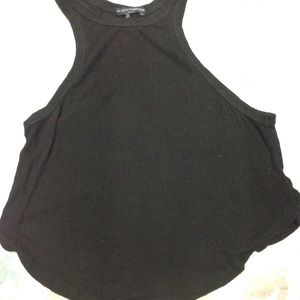 Brandy Melville racer back sleeveles crop top NWOT